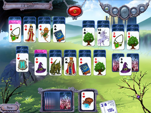 Enjoy Avalon Legends Solitaire