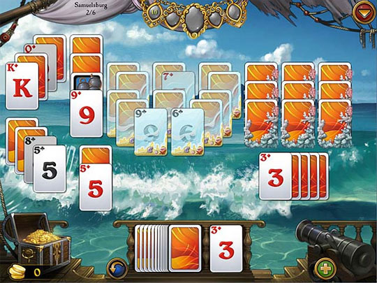 Try the Fun Gameplay in Seven Seas Solitaire