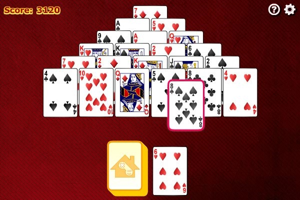 play free pyramid solitaire saga card game online