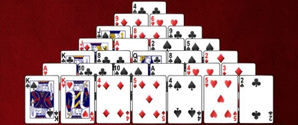 Pyramid Solitaire - Play A Great Game Of Pyramid Solitaire
