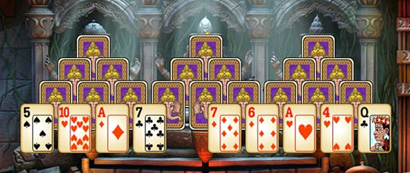 Tri-Peaks Solitaire To Go - Enjoy fantastic Tri Peaks Solitare and travel the world.