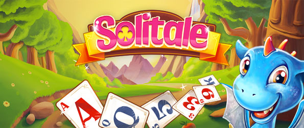 Solitale - Dragon Solitaire - Enjoy fantastic solitaire as you battle the wicked witch.