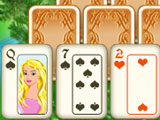 Three Towers Solitaire Starting Pattern