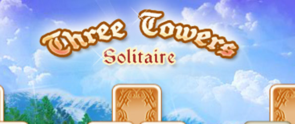 Three Towers Solitaire - Enjoy a fun casual solitaire game free on Facebook.