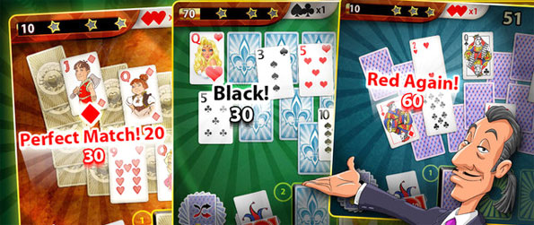 Solitaire Perfect Match - Enjoy a stunning game where you can match beautiful cards together.