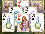 Gameplay for The Chronicles of Emerland Solitaire