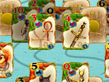 Gameplay for Solitaire Egypt