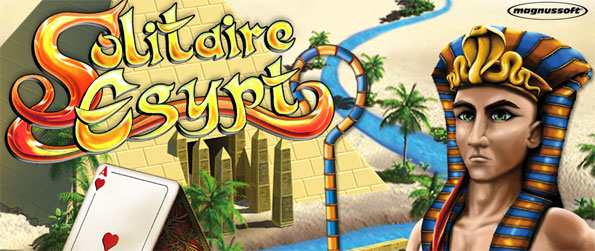 Solitaire Egypt - Rebuild your Oasis town by collecting the materials you need in each level.