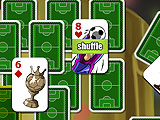 Bonus Cards at Play in Soccer Solitaire