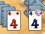 Bonus Cards at Play in Pirate Solitaire 3