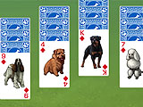 Tri-peaks Solitaire Inspired Levels in Best in Show Solitaire