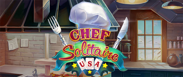 Chef Solitaire USA - Grow your restaurant's reputation by playing Solitaire levels and unlocking locations.