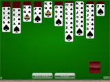Card Game Solitaire Classic Spider Solitaire