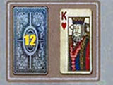 Royal Challenge Solitaire straightforward level