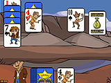 Shooting Gallery Shooting Game in Gunslinger Solitaire