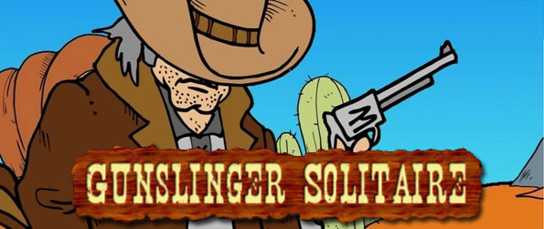 Gunslinger Solitaire - An epic adventure awaits you in this wild-west wonder of a game, Gunslinger Solitaire!