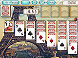Startup Klondike Game in Paris Solitaire
